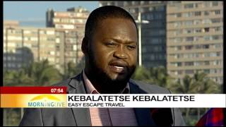 Kebalatetse Kebalatetse, buyer of SA tourism products
