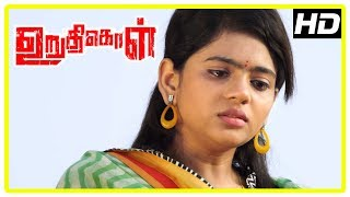 Uruthikol Movie Scenes   Meghana gets upset about Kishore   Kishore gets arrested   Kaali Venkat