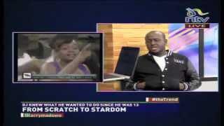Dj Joe Mfalme And Dj Pinye On The Trend On N.T.V (Part 1)