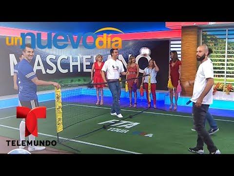 Javier Mascherano, jugador del Barcelona, llega EN EXCLUSIVA para hablar de la Asociación de Fútbol