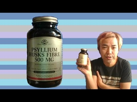 Solgar Psyllium Husks Fibre 500mg Review Youtube