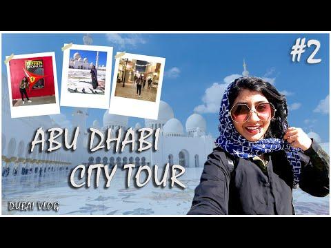 Abu Dhabi City Tour| Dubai Series: Vlog #2| Ferrari world | #Prelockdown #ferrariworld