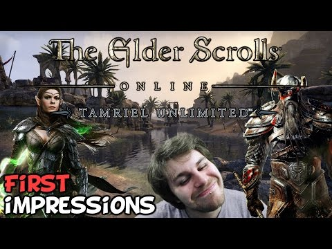 """Elder Scrolls Online Tamriel Unlimited PC First Impressions """"Is It Worth Playing?"""""""
