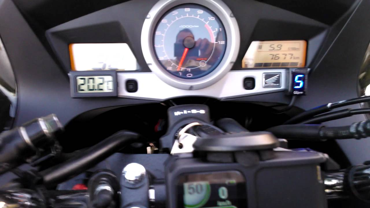 Indicateur Rapport Engag 233 Gipro Gpds H01 Honda Cbf1000 Fa