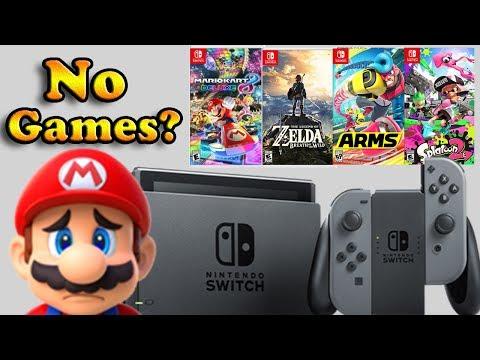 Nintendo Switch Still Has No Games?