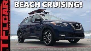 2019 Nissan Kicks Sneak Peek Review: You Can Always Take The Beach With You