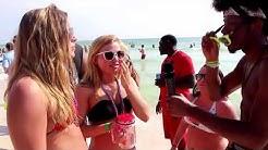 DRUNK College Girls at Spring Break 2015 - HOT SEXY Women on Ratchet Partying