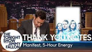 Thank You Notes: Manifest, 5-Hour Energy