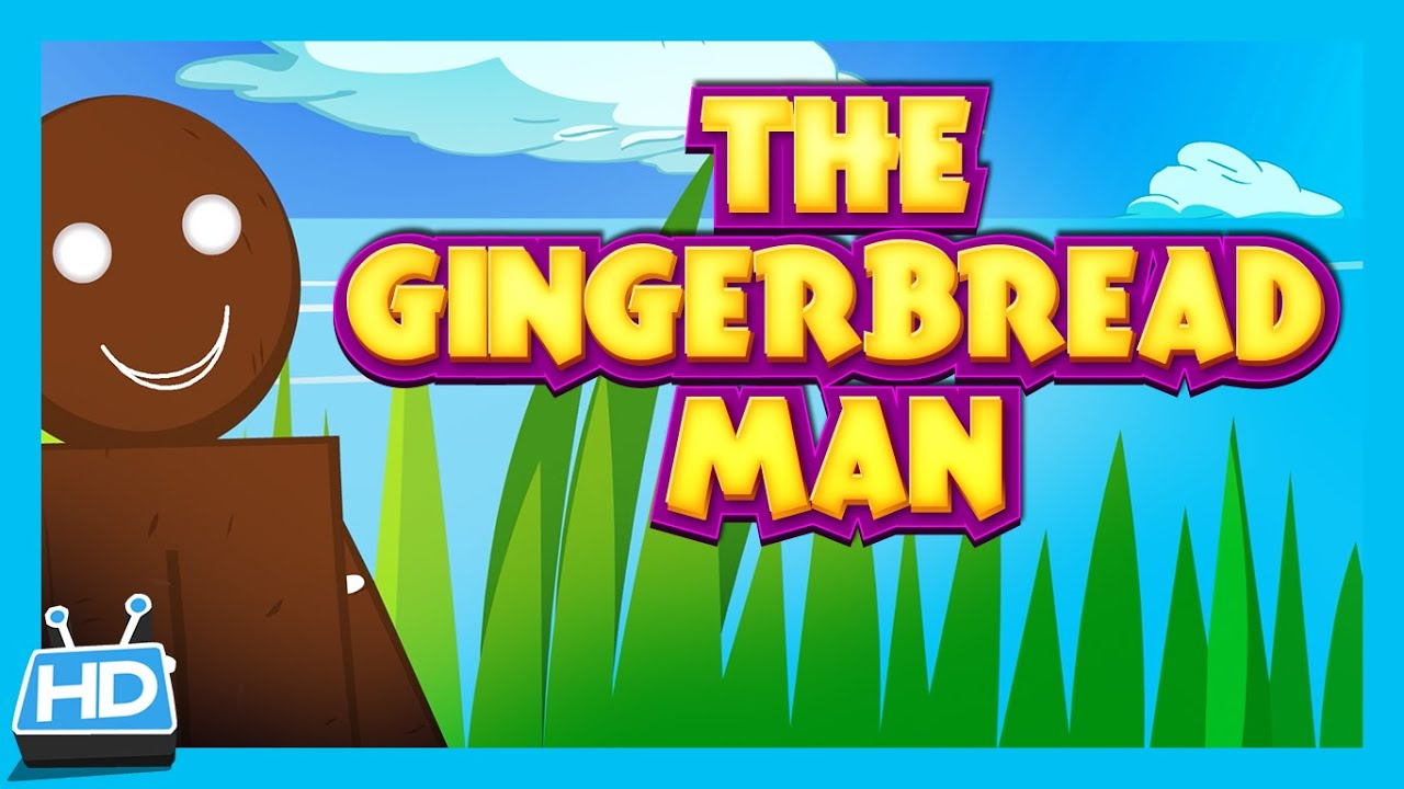 The Gingerbread Man - Bedtime Story | Animated Full Story For Kids ...