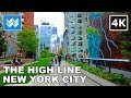 Walking Tour Of The High Line In Manhattan New York City 4K mp3