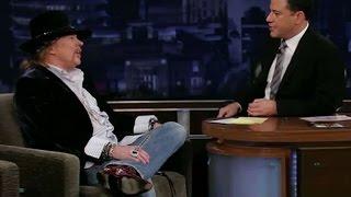 Entrevista de Axl Rose à Jimmy Kimmel - Legendado