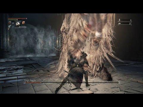 Bloodborne - How To Kill Vicar Amelia