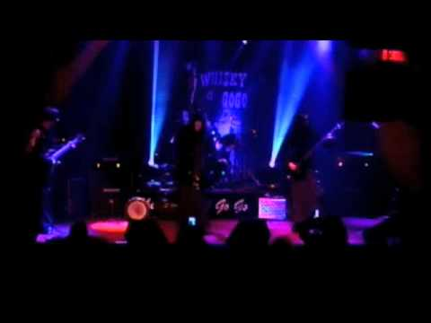 BLACK HEROIN GALLERY (his beautiful darkness) live at the Whisky 1/30/15