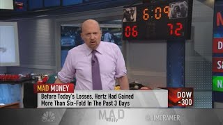 Jim Cramer: Investors Need To Understand Risks Of Buying Stock In Bankrupt Companies Like Hertz