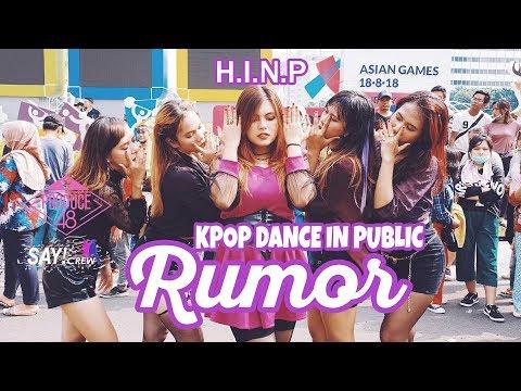 [KPOP DANCE IN PUBLIC CHALLENGE ] PRODUCE48 (프로듀스48) - ♬Rumor Dance Cover by SAYCREW from Indonesia