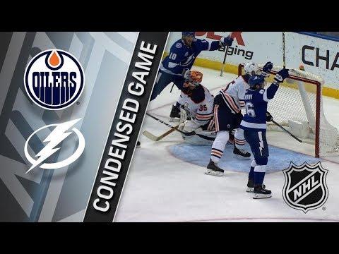 Edmonton Oilers vs Tampa Bay Lightning March 18, 2018 HIGHLIGHTS HD