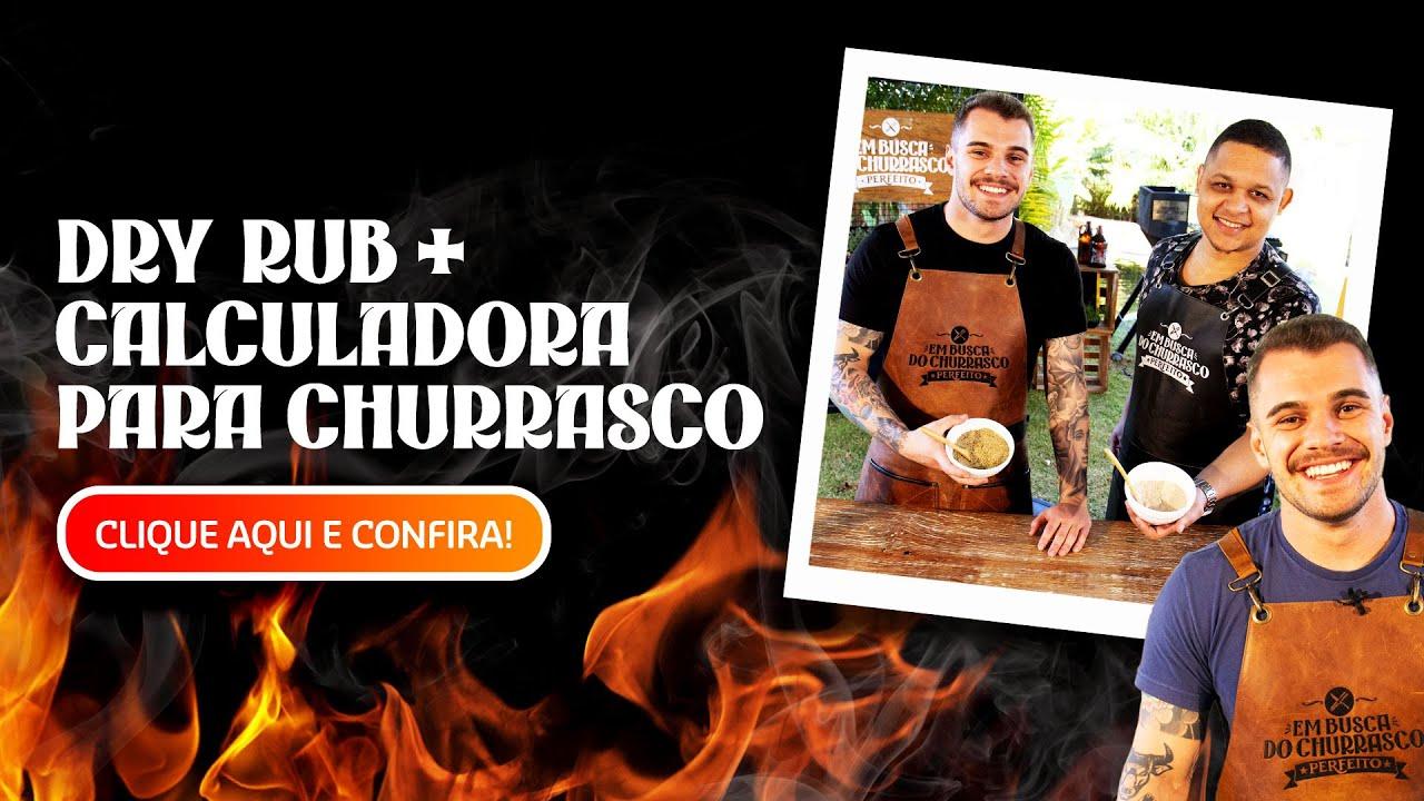 DRY RUB + CALCULADORA para CHURRASCO