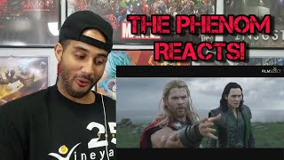 THOR RAGNAROK: 5 Clips from the Movie REACTION!!!!