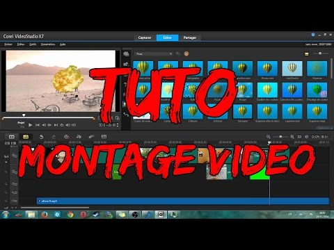 [TUTORIEL] Montage vidéo : Corel video studio + Magix movie edit pro premium