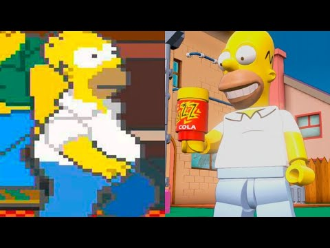 Evolution Of The Simpsons Games