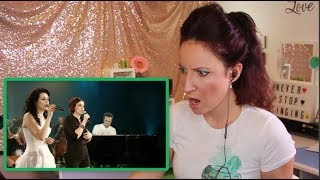 Vocal Coach REACTS to WITHIN TEMPTATION-Anneke and Sharon- SOMEWHERE- Metropole Orchestra