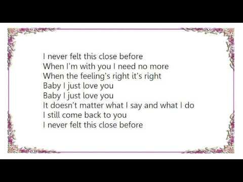 Bonnie Tyler - Baby I Just Love You Lyrics