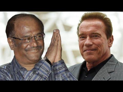 Arnold debut In Rajinikanth's New Movie Enthiran 2