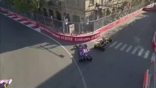F1 | Azerbeidzjan 2019 | Parking sensors Ricciardo worked well..