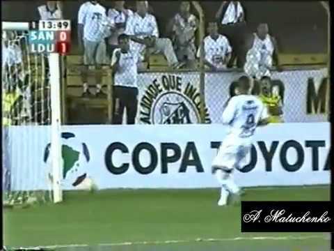 Santos 3 x 1 LDU (EQU) - Libertadores 2005 - 06/04/05