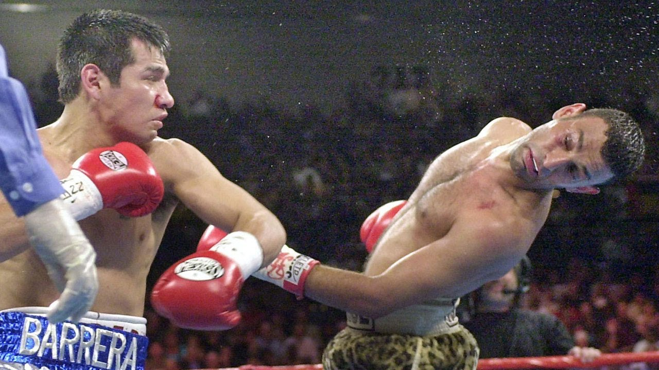 Marco Antonio Barrera vs Prince Naseem Hamed Full Highlights