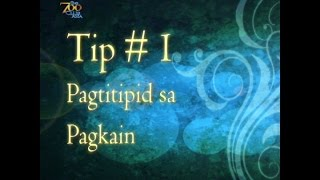 Pagtitipid Tips from Vic Garcia (1 of 4)