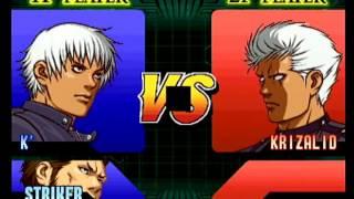K' vs Krizalid - THE KING OF FIGHTERS '99 EVOLUTION