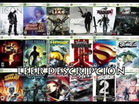 Todos Los Juegos De Xbox 360 Torrent O Mega Youtube