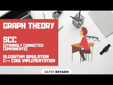Strongly Connected Components Algorithm & Simulation & Code C++ Bangla
