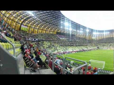 Wejście Na Stadion W Gdańsku!