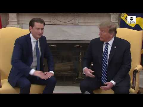 Trump meets with Austrian Chancellor Sebastian Kurz | ABC News