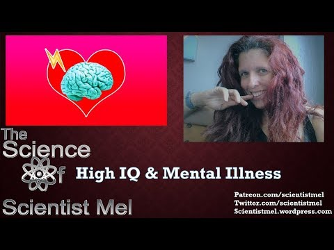 The Science Of High IQ and Mental Illness
