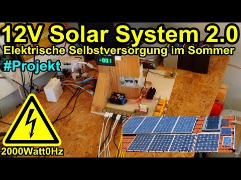 12 V Solar System 2.0