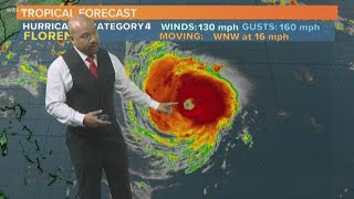 Hurricane Florence Forecast: Tuesday Afternoon Update 9/11/2018