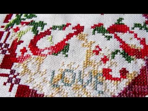 В процессе... один из шести сюжетов Old World Holiday Ornaments