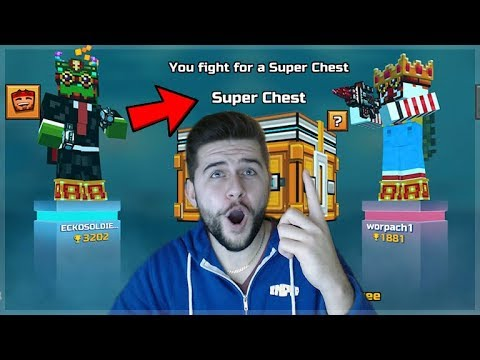 Pixel Gun 3D | OMG! FIGHTING 1 V 1 DUELS FOR SUPER CHESTS!!! INSANE BATTLES!