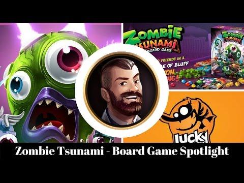 Zombie Tsunami - Board Game Spotlight