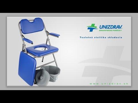 Toaletná stolička skladacia - VIDEOMANUÁL