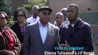 Etienne Tshisekedi a rendu visite à Jean-Pierre Bemba à la Haye ce16/07/2011 (images)