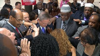 Menendez stands with faith leaders to counter ethics charges
