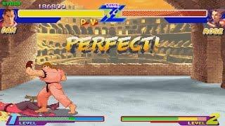 STREET FIGHTER ZERO (ARCADE CPS-Changer) 1CC DAN Playthrough NO DEATH RUN (FULL GAMEPLAY)
