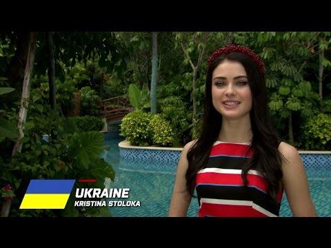 MW2015 : UKRAINE, Kristina Stoloka - Contestant Profile
