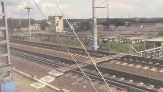 Отправление со станции Лиски(Отправление пассажирского поезда №475 сообщением