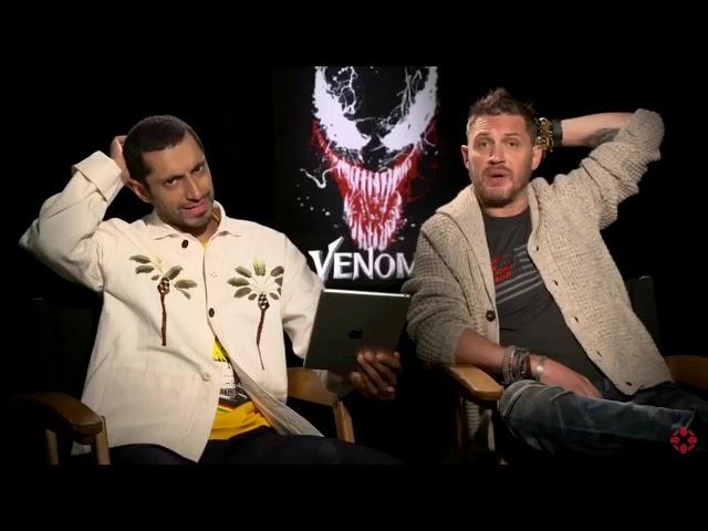 tom hardy regretting venom for 2 minutes (ft. riz ahmed)