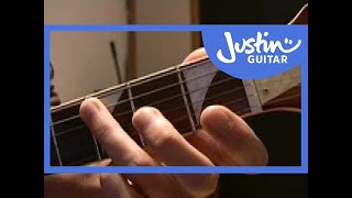 Wipeout - The Ventures (Songs Guitar Lesson ST-615) How to play